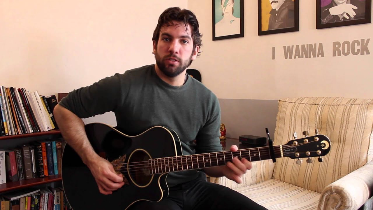 Vance Joy - Riptide (Guitar Chords u0026 Lesson) by Shawn Parrotte - YouTube