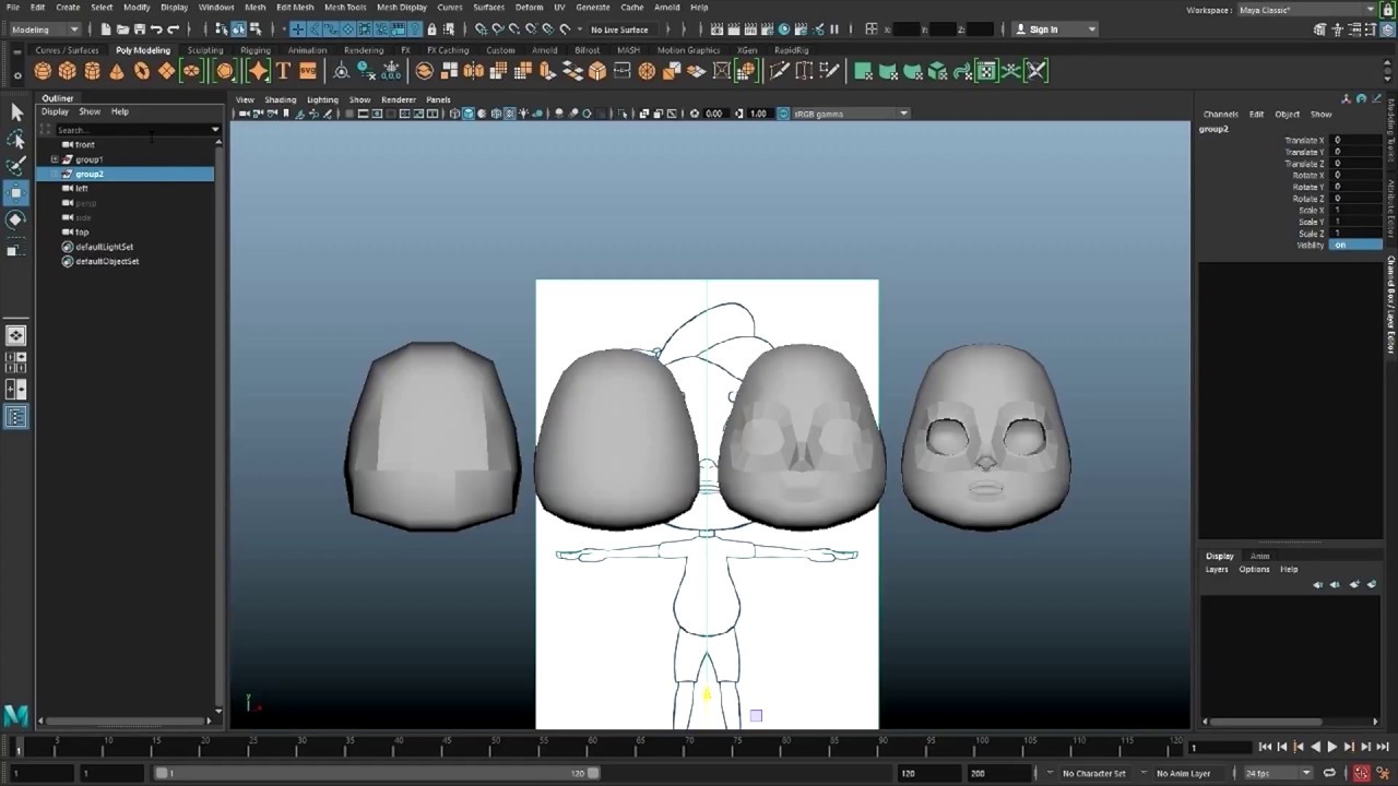 Character Modeling   Intel® Software