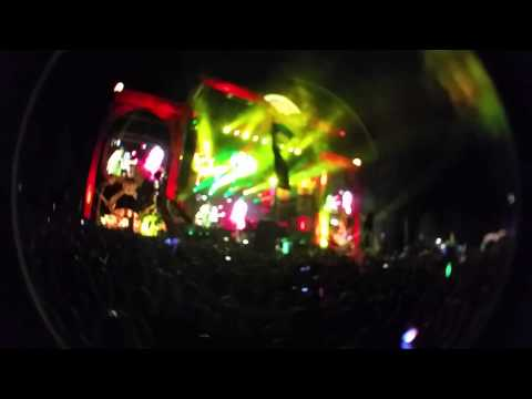 Skrillex opening electric forest 2015 (intro)