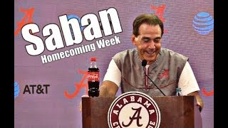 Alabama Crimson Tide Football: Nick Saban press conference before Missouri, Tua has sprained Knee