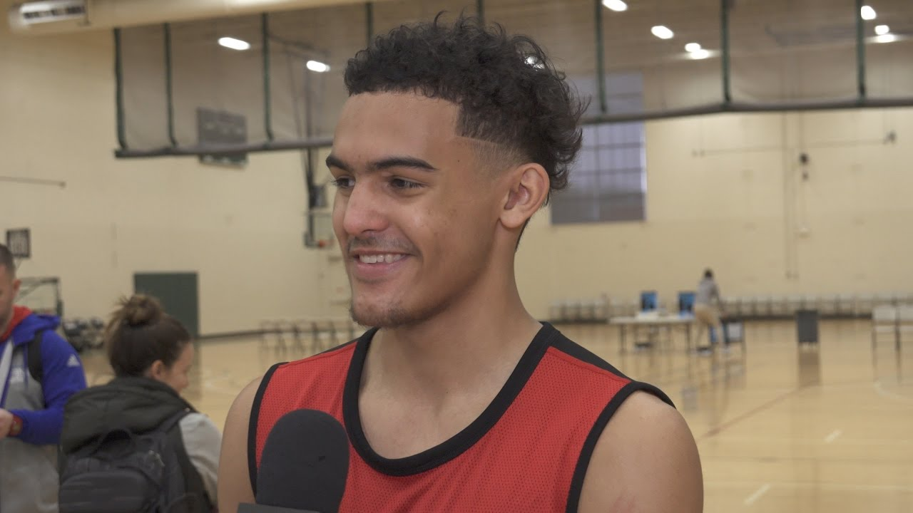 Trae Young Interview with Draft Express - YouTube