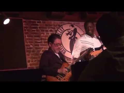 Jazz-Rock Guitar player star from Japan - Kazumi Watanabe plays in  Blues Alley club.