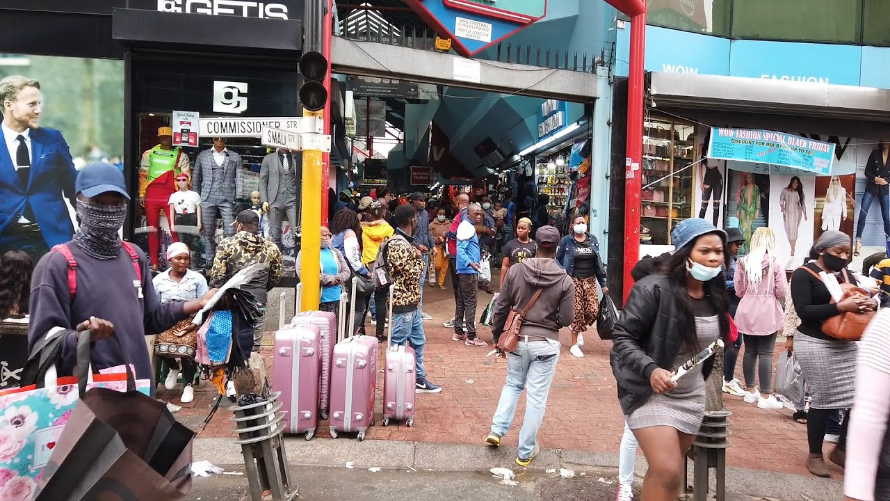 Download RAW & UNCUT REAL STREETS OF Downtown Johannesburg S.A
