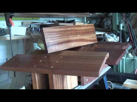 Woodworking; My Meditation Benches (kneeling benches)