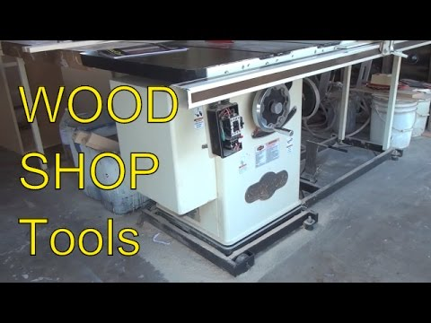 I got his entire WOOD SHOP, FULL TOUR of what I will be getting , Its a big SCORE!