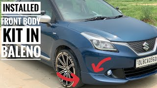 Changed my baleno look 🔥   front body kit for baleno   best baleno modified Video