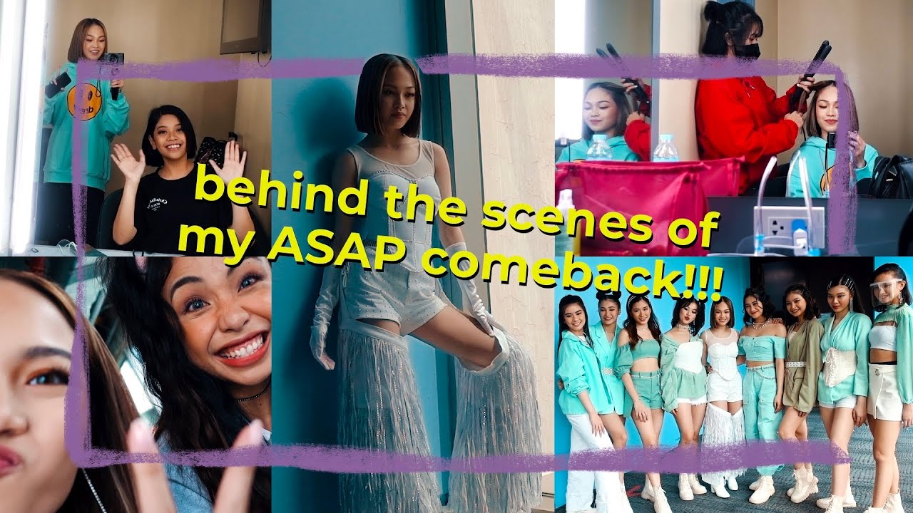ASAP Comeback (Behind The Scenes) // Andree Bonifacio