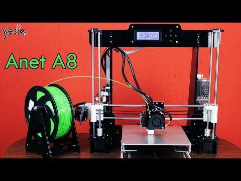 Sastavljam 3D stampac Anet A8 DIY
