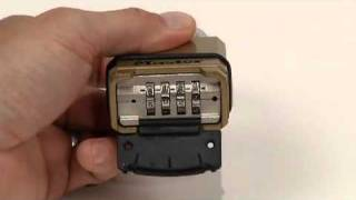 Operating the Magnum® M175 Set-Your-Own Combination Lock