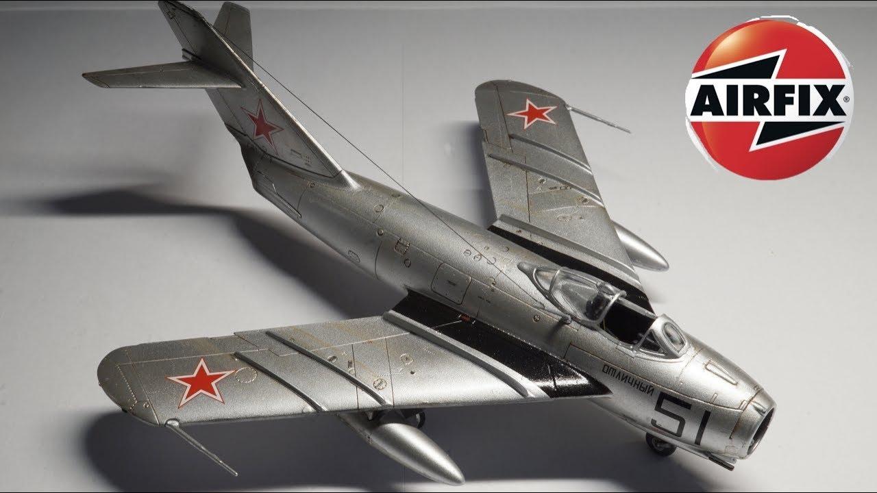 """in 1:72 Shenyang J-5 AIRFIX® A03091 MiG-17F /""""Fresco/"""""""