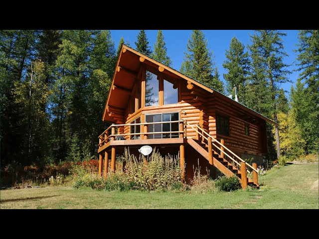 Astrid - The Quintessential Log Cabin in Montana