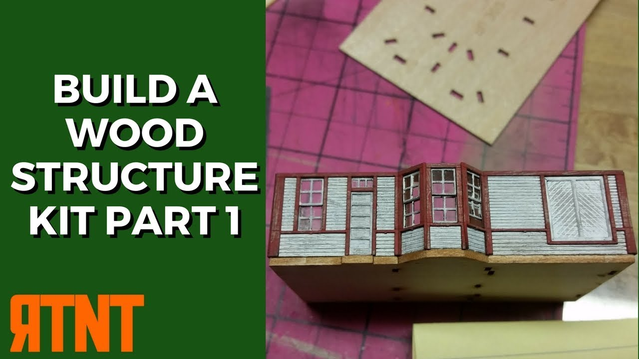 How to Build and Weather a Craftsman Wood Structure KIt for Your ...