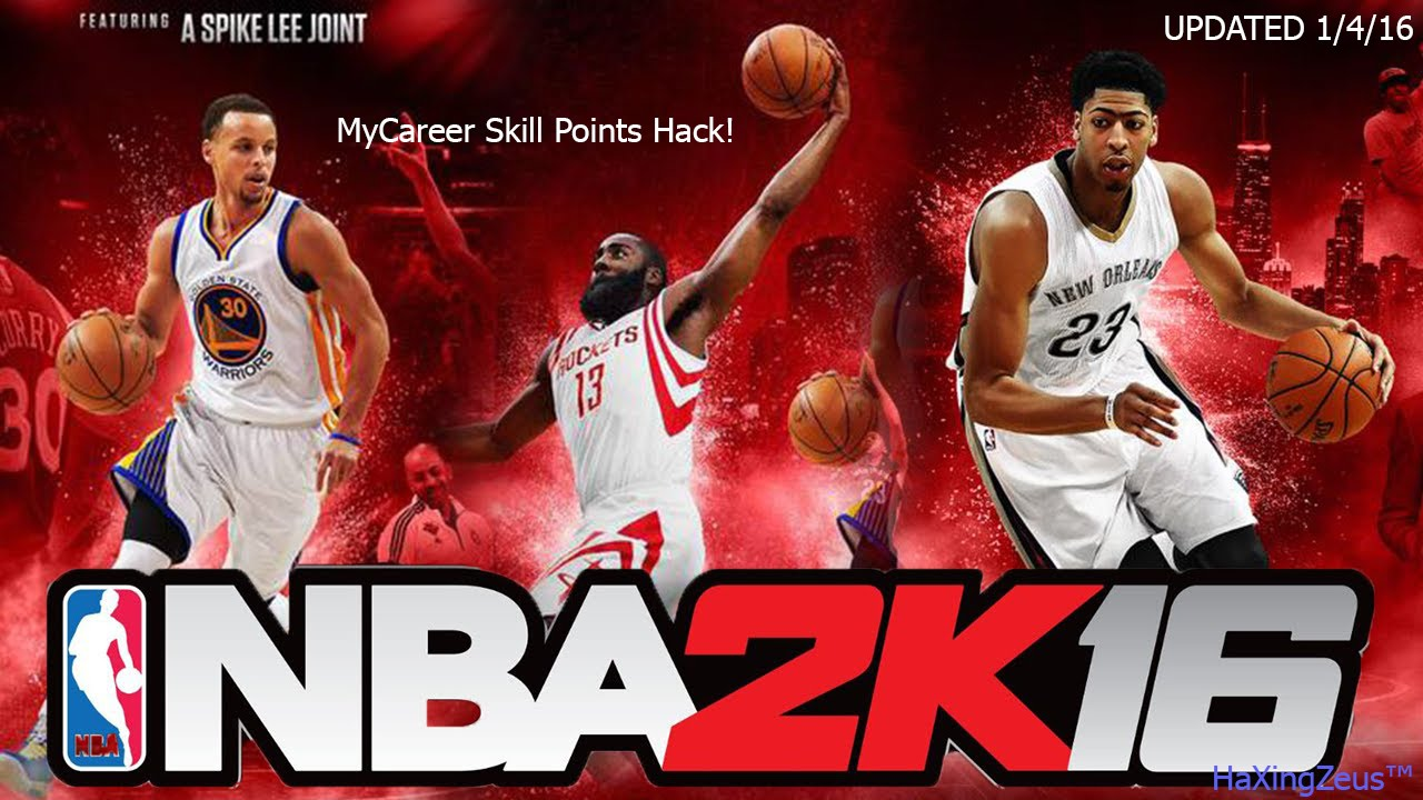Updated Nba 2k16 Mycareer Unlimited Skill Points Hack Hd Youtube