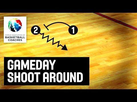 Gameday shoot around - Sasa Obradovic - Basketball Fundamentals