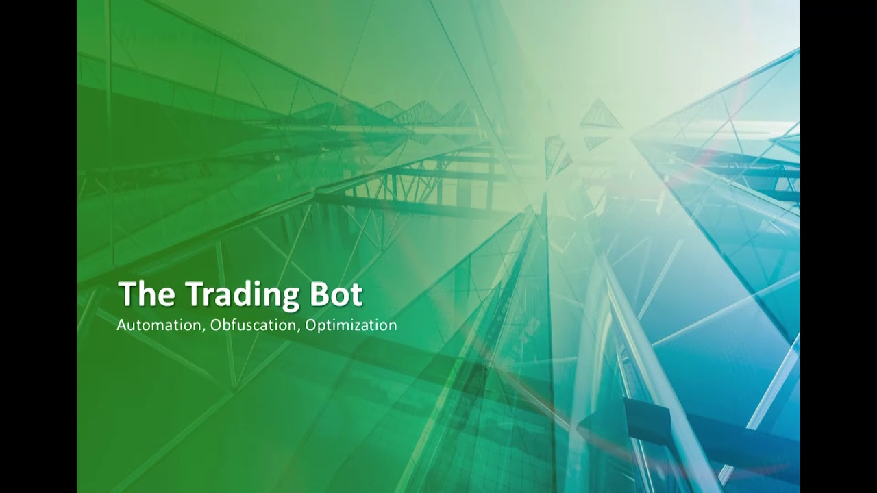Machine learning trading bots