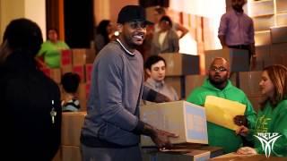 Carmelo Anthony | Feed the Children, Harlem NY, 2014