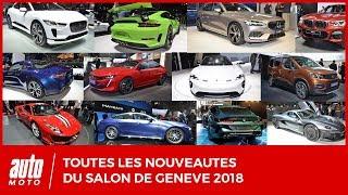 Salon de Genève 2018 [EMISSION] : les 20 nouveautés majeures de la 88e édition