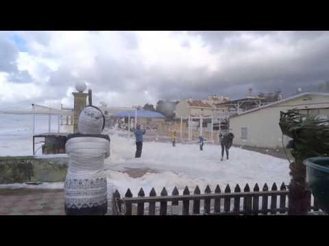 Прогулка по набережной в Сочи. Концертный зал Фестивальный. Погода в октябре 2016
