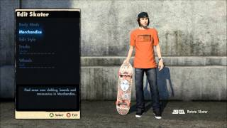 Skate 3: Learn To Trickline - How To Set Up Your Skater (Ep.01)