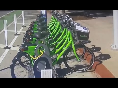SANTA MONICA BIKE SHARE ORGASM. MORE EXPENSIVE THEN A CAR. FORCES CASHLESS SOCIETY. AGENDA 21