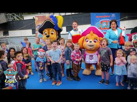 Paw Patrol Live ! Australia - Melbourne Media Launch
