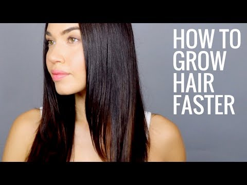 HOW TO GROW HAIR FASTER   How to get Naturally Thicker, Fuller, Longer Hair