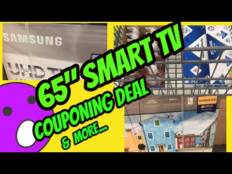 """65""""-smart-tv-couponing-deal-&-more..."""