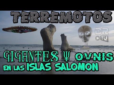 TERREMOTOS █►GIGANTES Y OVNIS EN LAS ISLAS SALOMON◄█ P1 (ALEX BACKMAN)