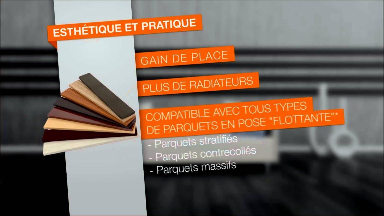 Parquet Sur Plancher Chauffant vidéo de présentation plancher chauffant bi-conducteurs