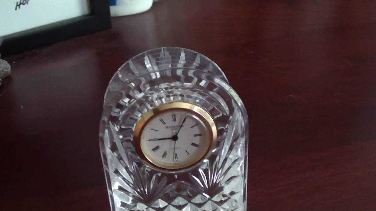 Waterford Crystal Clock You