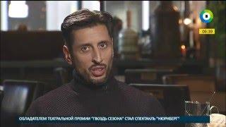 """Звездный завтрак с солистом группы """"Градусы"""" Русланом Тагиевым."""