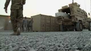 Dignified Transfer Training In Afghanistan