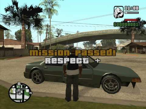 GTA San Andreas - Sweet's Girl (Sweet Mission #6) - Method #2 - Overkill - Mission Help