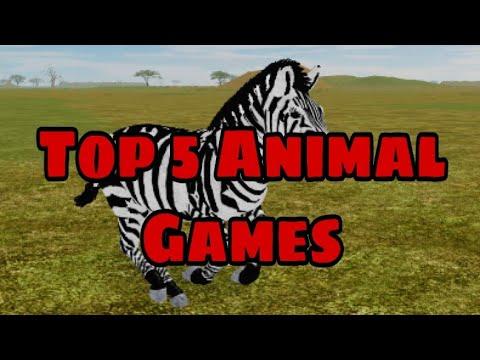 Top 5 Roblox Animal Survival Games 2020 Youtube