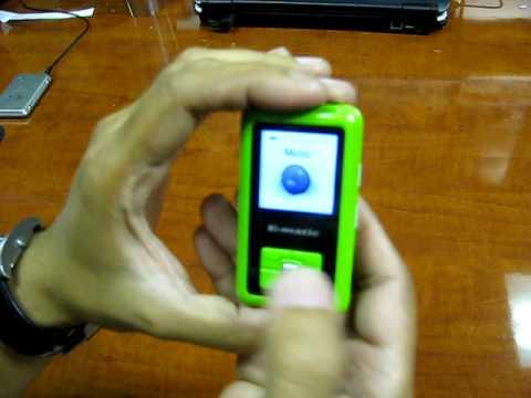 Ematic EM102VID 2GB MP3  Player