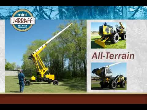 Mini-Jarraff Rear Lot Trimmer Overview