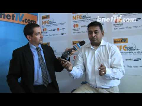 bnetTV interviews Sonim at 2011 NFC World Congress Nice