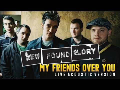 New Found Glory - My Friends Over You acoustic
