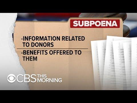 Trump inaugural committee subpoenaed by federal prosecutors Mp3