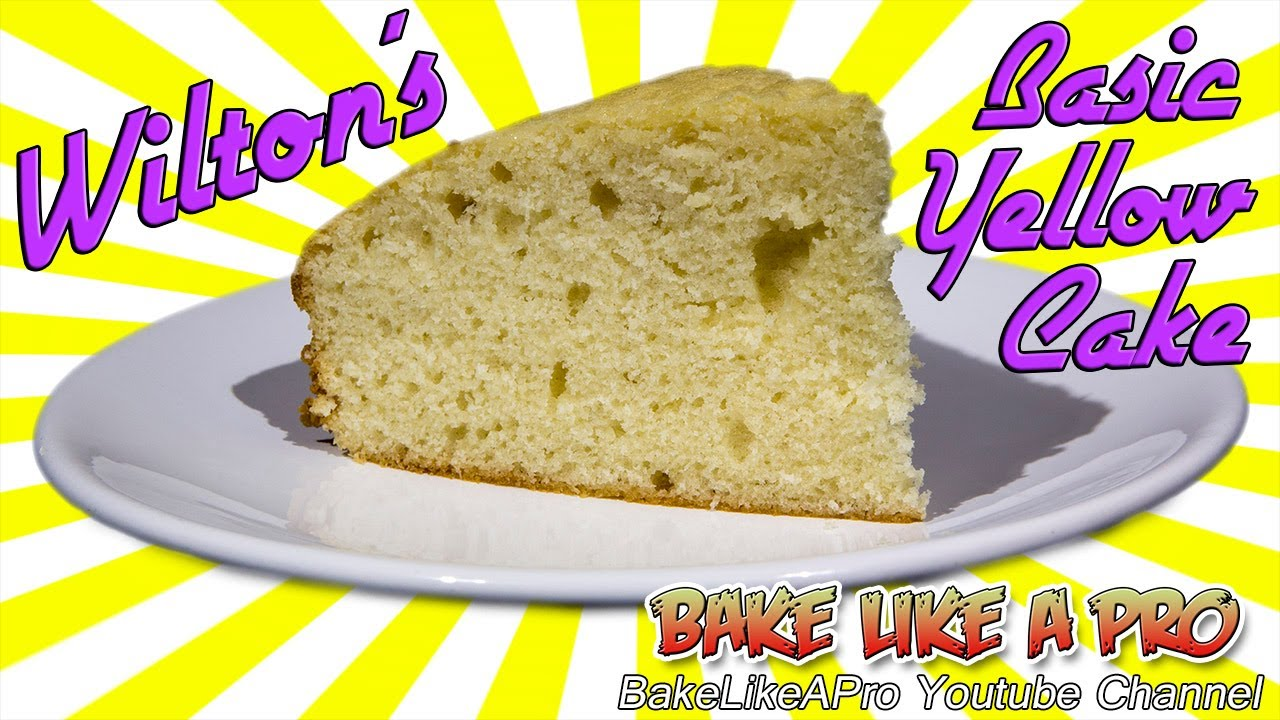 Wilton Basic Yellow Cake