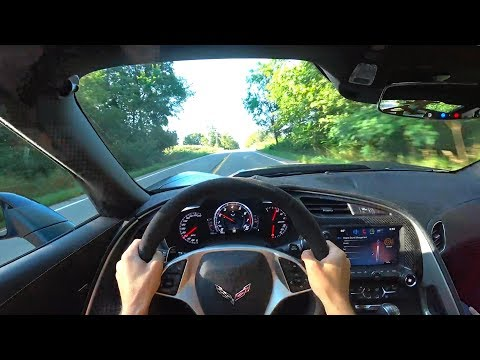 This Procharged C7 Z06 is Perfectly Insane - POV Impressions (Binaural Audio)