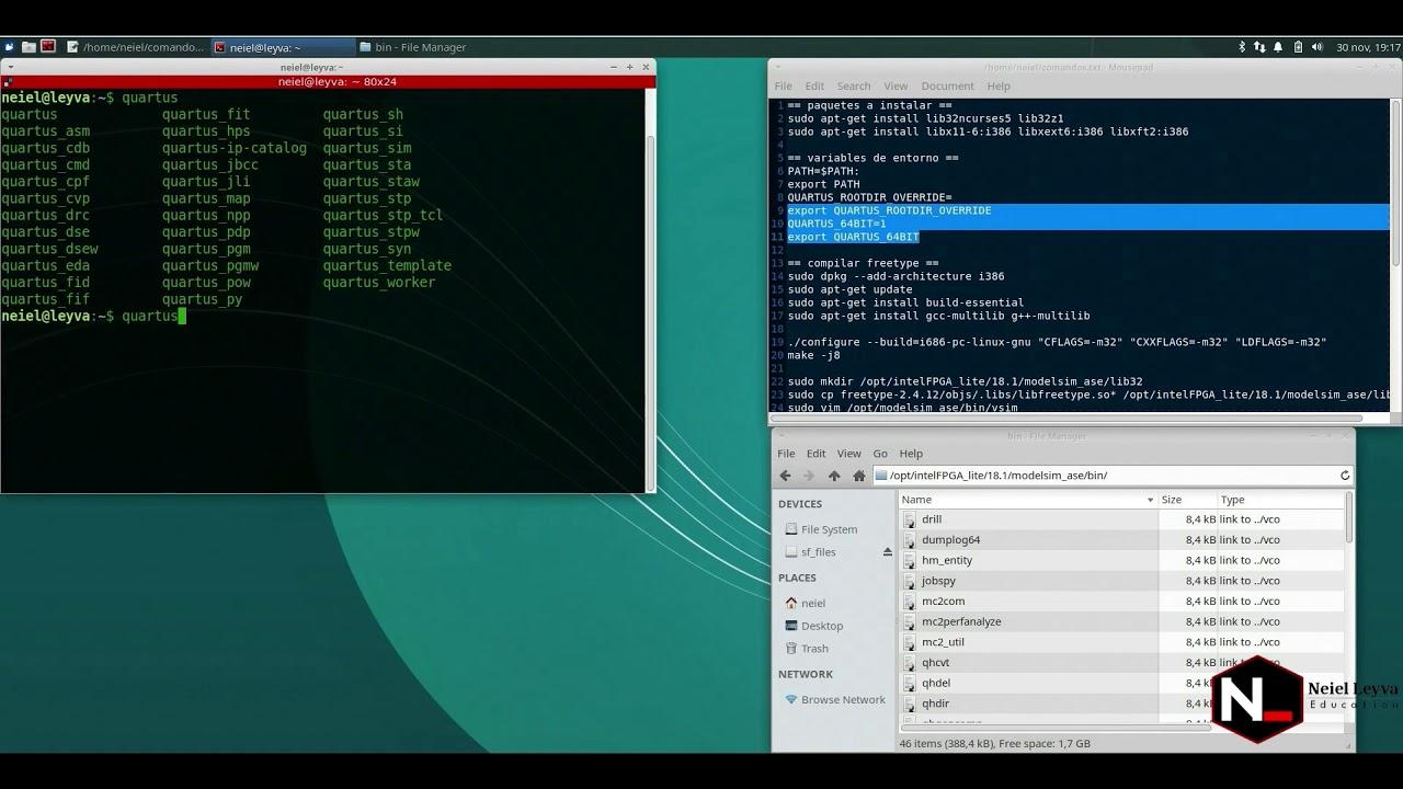 Modelsim Linux