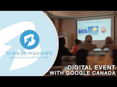 BreezeMaxWeb Digital Events with Google Canada - BreezeMaxWeb