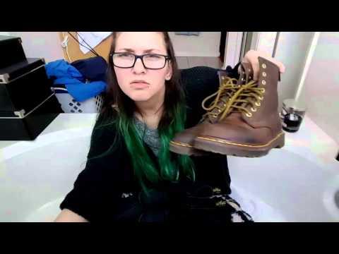 Dr Martens shoe collection