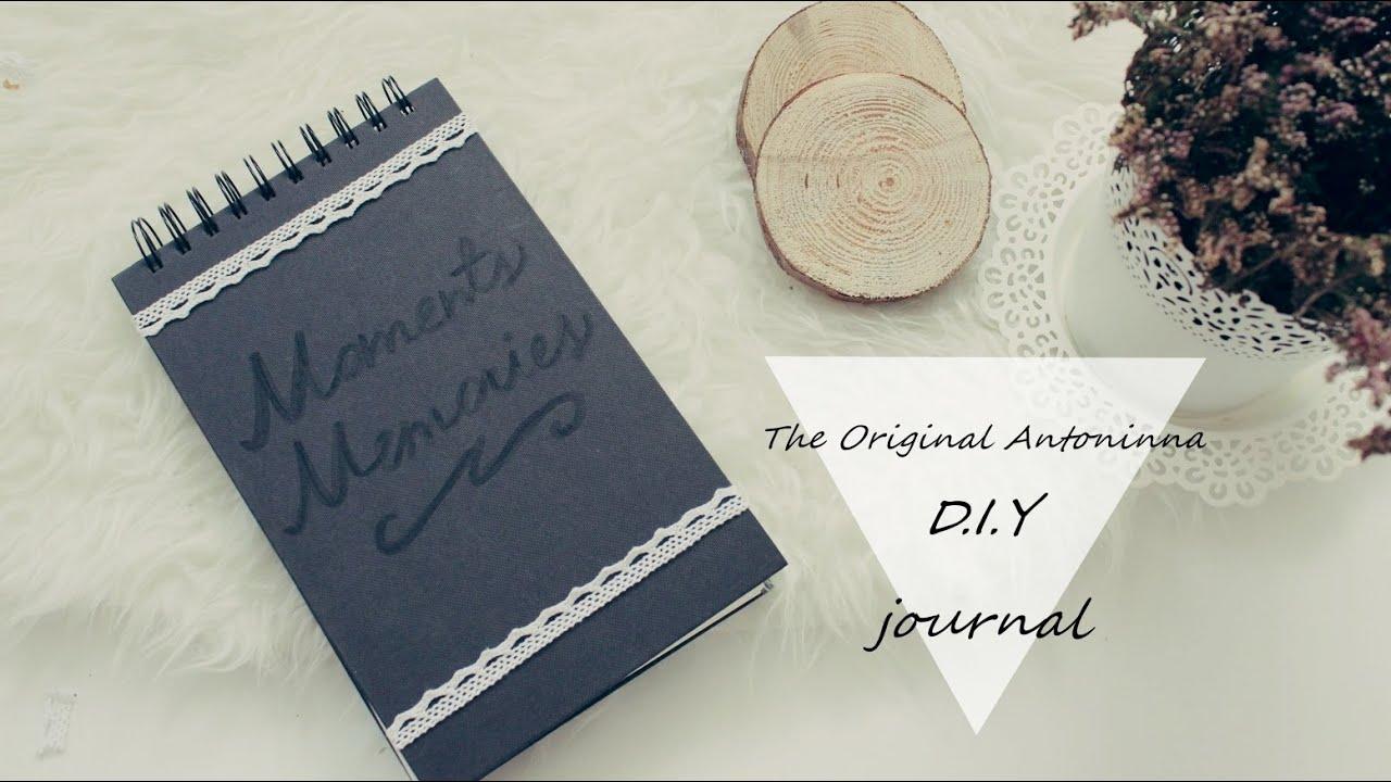 #1 autumn diy - journal diy [anna koper]
