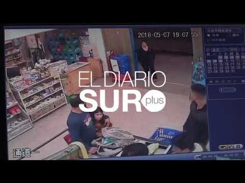 Violento robo a un supermercado chino en Burzaco