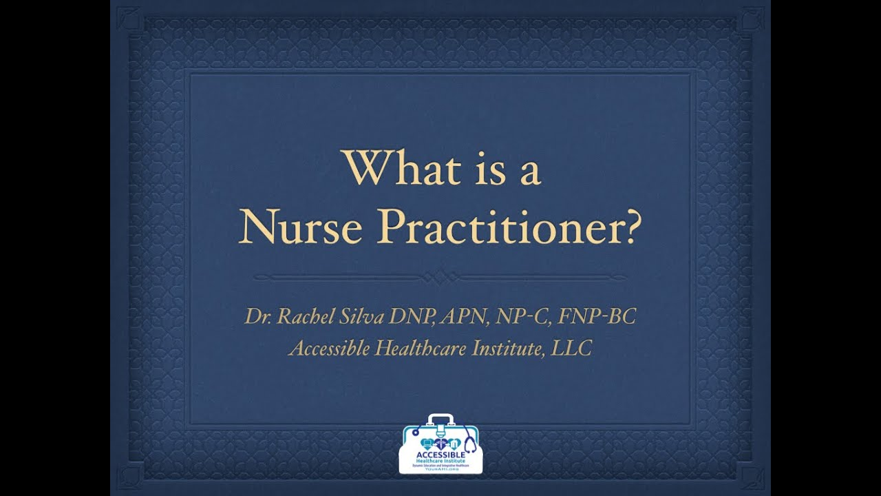 video podcast what is a nurse practitioner