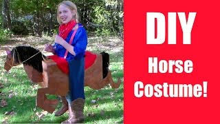 Diy Horse Costume {free Costume Collaboration With Hectanooga1}