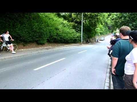 Skoda Tour de Luxembourg 2011: An der Montée de la Pétrusse