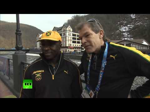 'Sochi receives us like stars' - Iconic Jamaican bobsleigh pilot Winston Watts